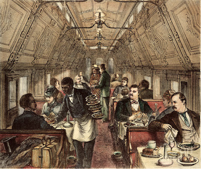 Pullman Created The First Dining Cars On 1870s Numberless Cultivated Americans Traveling In Europe Never By Any Chance Speak English Or Carry