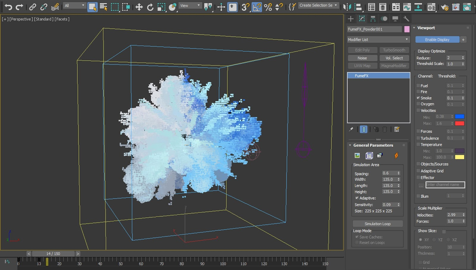 Using Vertex Color to Color FumeFX Fluids   CG TUTORIAL
