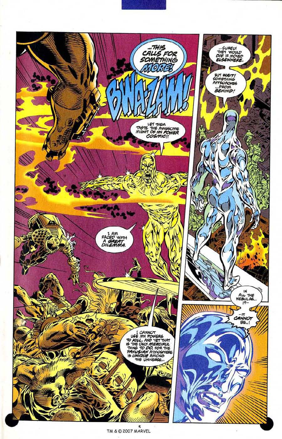 Read online Silver Surfer (1987) comic -  Issue #106 - 7