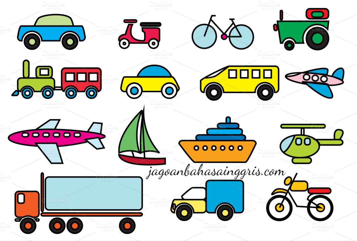 Materi Transportation Beserta Contoh Kalimat Dan Soal Latihannya Pembahasan Soal