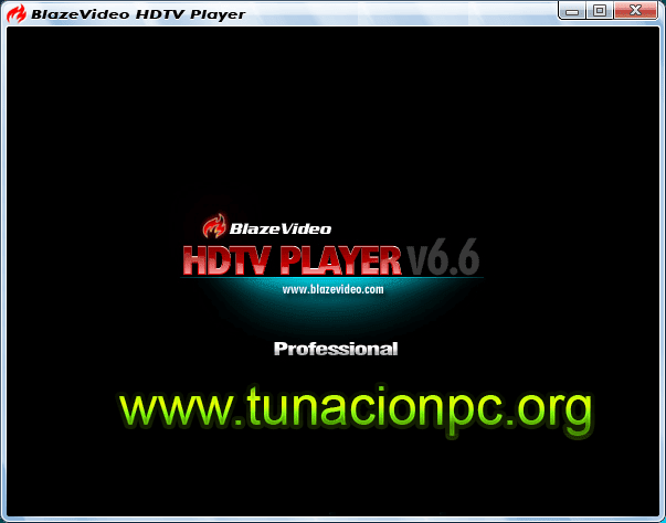 BlazeVideo HDTV Player Professional Full Español Imagen