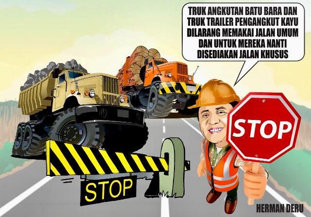 Larangan Angkutan Batubara Lewat Jalan Umum, Gubernur Sumsel Harus Bijak