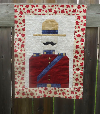 Sergeant Sesquicentennial from Quilty Pleasures, Orleans Ontario
