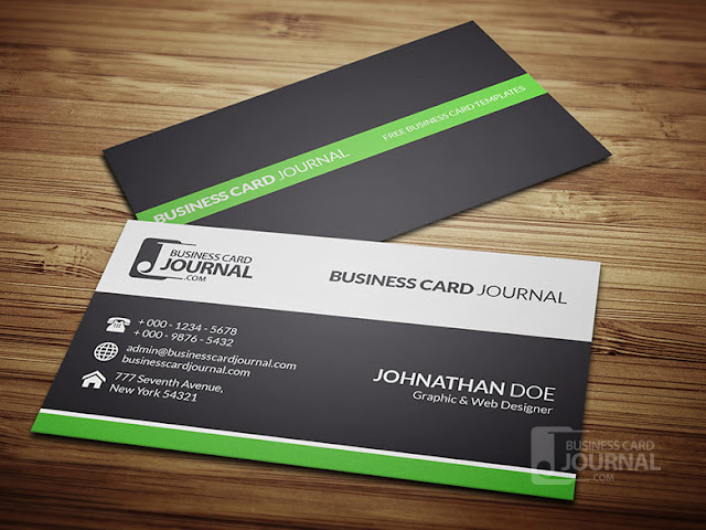 Clean & Professional Corporate Business Card Design