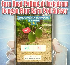 Cara Buat Polling di Instagram Dengan Fitur Baru Poll Sticker