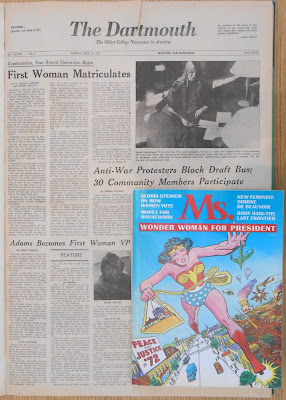 First issue of Ms set on September 1972 issue of The Dartmouth