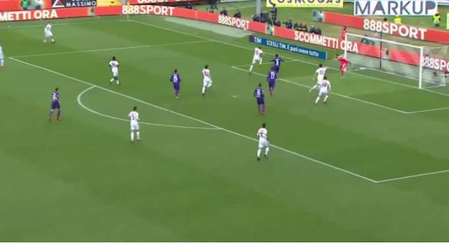 Fiorentina Milan 1-1 highlights
