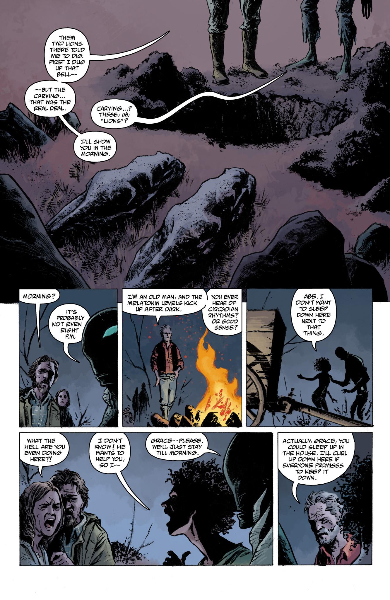 Read online Abe Sapien comic -  Issue #13 - 14