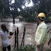 """55  Personas afectadas  por desbordamiento del Rio """"Chiquito"""" en Chiapa  de Corzo"""