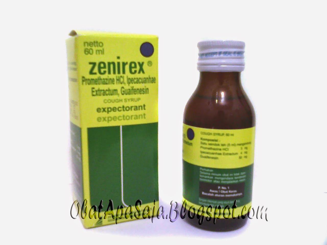Zenirex Obat Batuk Berdahak