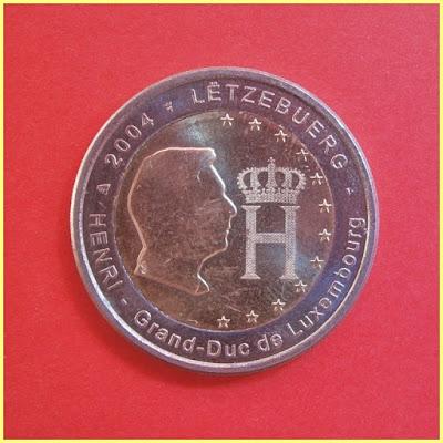 2004 Luxemburgo 2 Euros