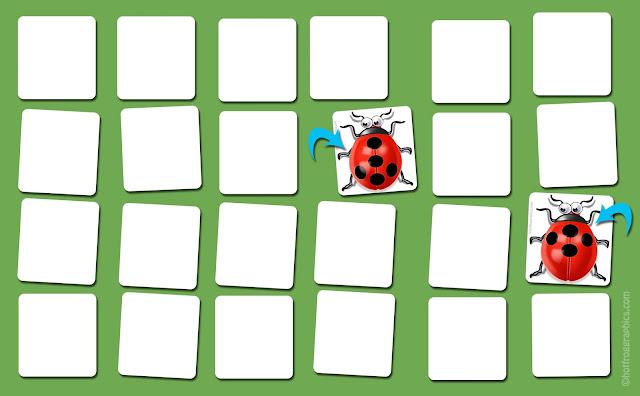 image of Ladybug card game instructions