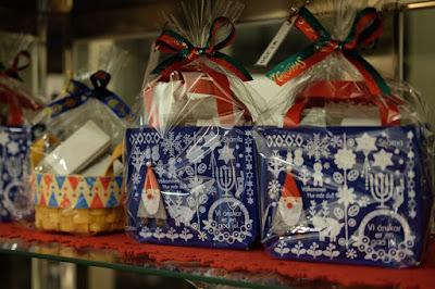 長野県飯島町の和洋菓子屋 信州里の菓工房 クリスマスの入れ物