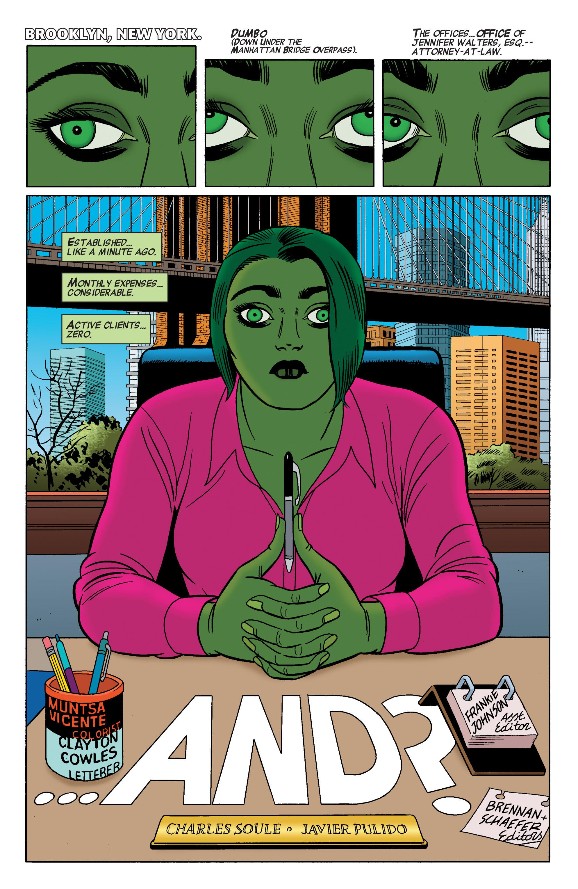 Read online She-Hulk (2014) comic -  Issue #2 - 3