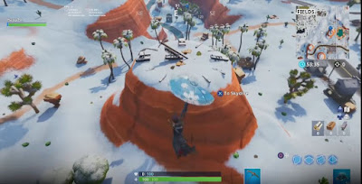 Sundial, Dance Location Map, Fortnite, Week 9, Season 7