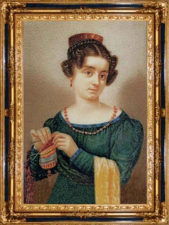 A Beata Isabel Canori Mora quando tinha 22 anos.