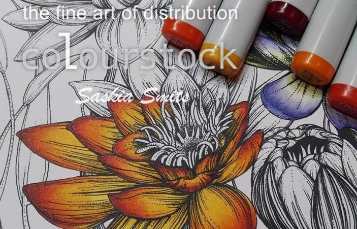 Kleurplaten Waterlelies.Colourstock De Waterlelie