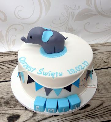 tort ze słonikiem