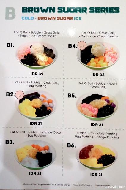Daftar Harga Menu Fat Bubble