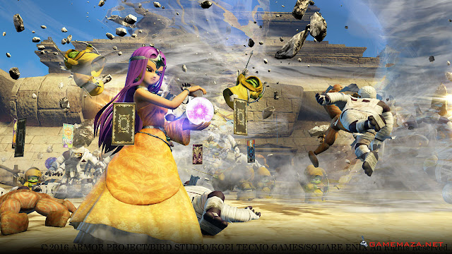 Dragon Quest Heroes Gameplay Screenshot 4