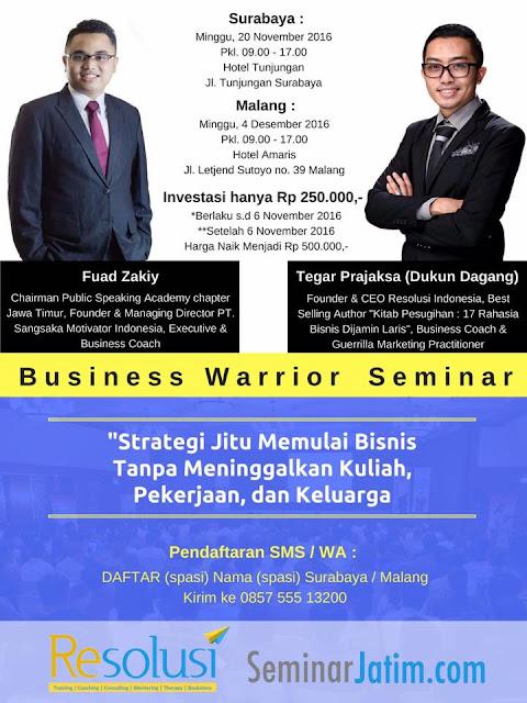 Seminar BUSINESS WARRIOR