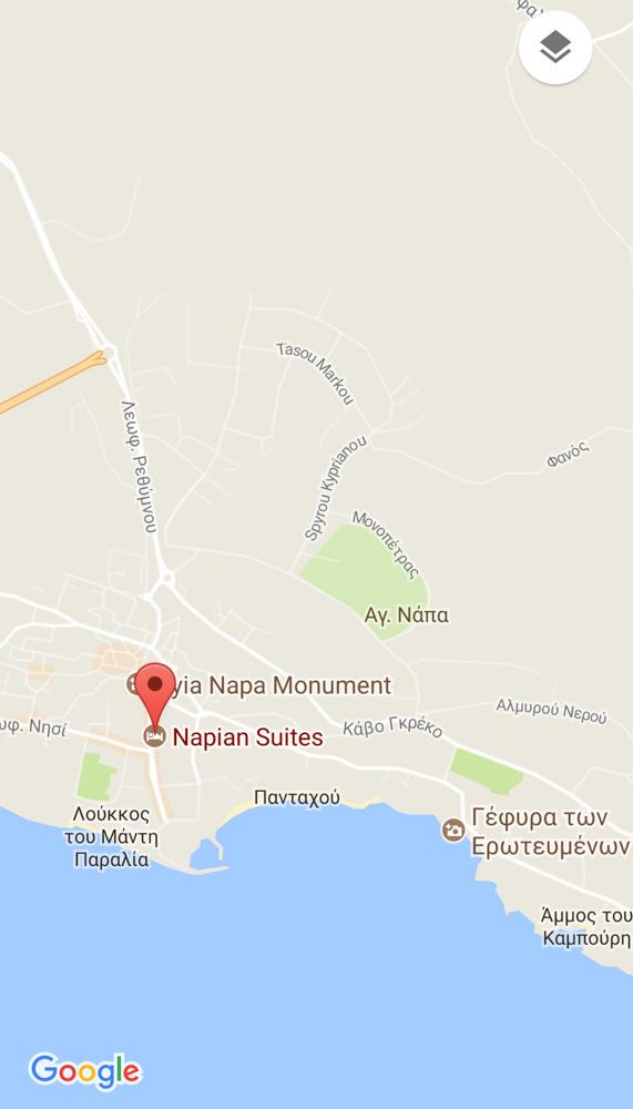 CHECK IN NAPIAN SUITES AYIA NAPA CYPRUS Hey Daphneen
