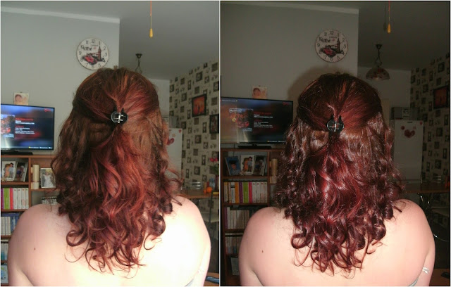 Niedziela dla włosów z kallosem biotin i żelem lnianym