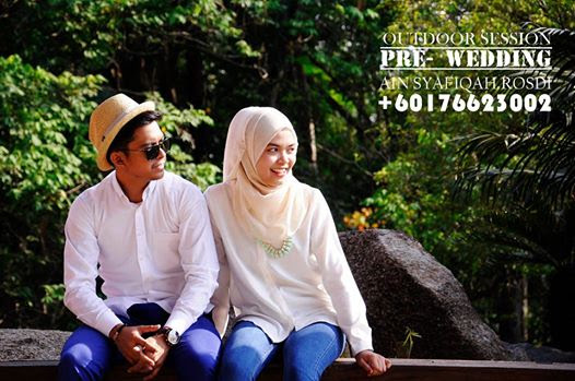 Outdoor shooting/ Prewedding!!