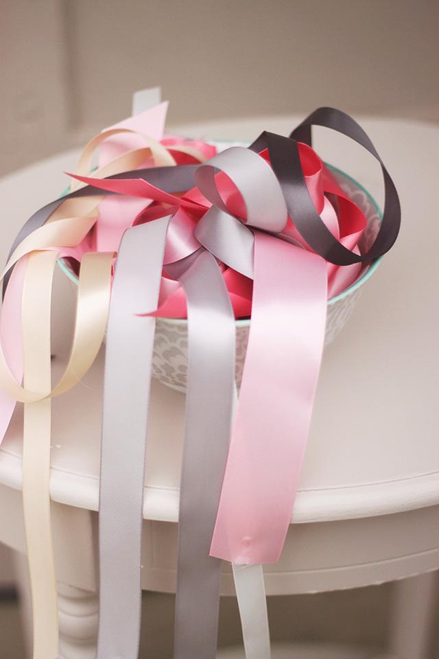 Diy Ribbon Lace Backdrop Tutorial Oh Lovely Day