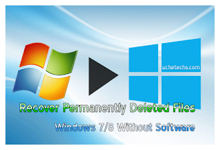 Recover Permanently Deleted Files In Windows