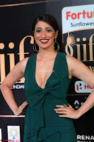 Raai Laxmi in Deep Neck Sleeveless Green Leg Split Gown at IIFA Utsavam Awards 2017  Day 2    HD Exclusive Pics 16.JPG