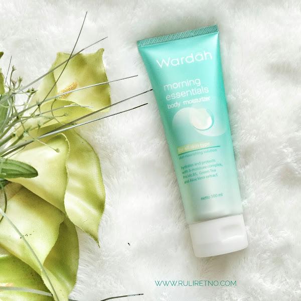 Review Wardah Morning Essentials Body Moisturizer, Kombinasi Keren Green Tea dan Aloe Vera