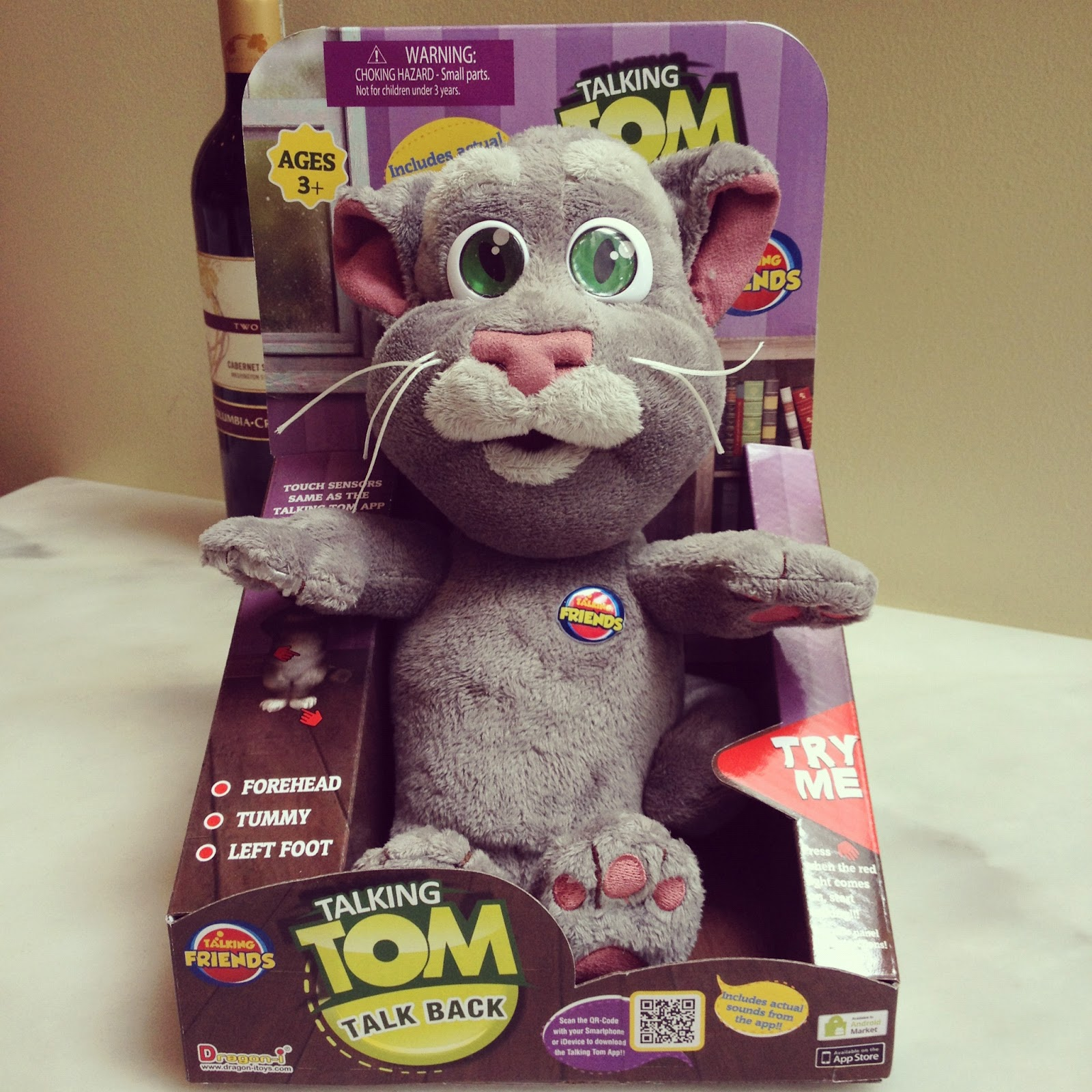 Manila Fashion Observer Talking Tom Giveaway From Solid Alliance Toys