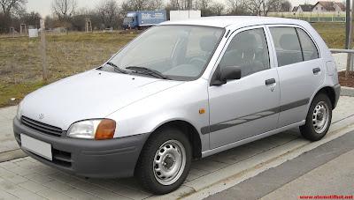 Eksterior Mobil Toyota Starlet