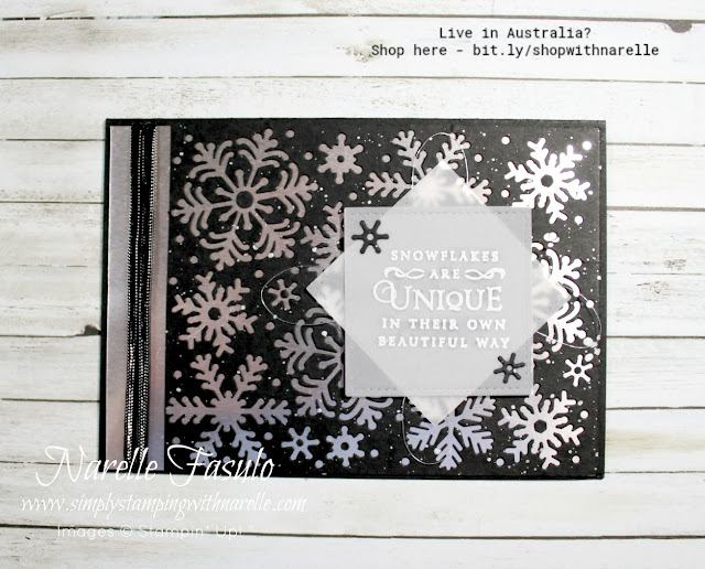 Love snowflakes? Then you are going to love this stamp and die set - Beautiful Blizzard. See it here - http://bit.ly/2OBIxQN