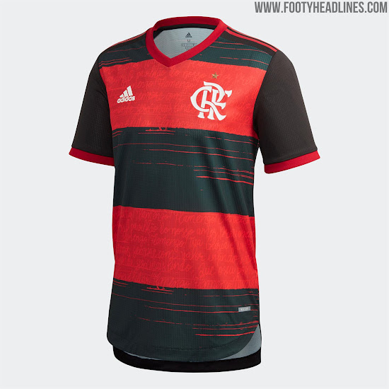 2020-21 Flamengo Home Away soccer Jersey and Copa Libertadores champion patch