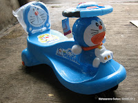 Elite Kids' Time Doraemon Swing Car
