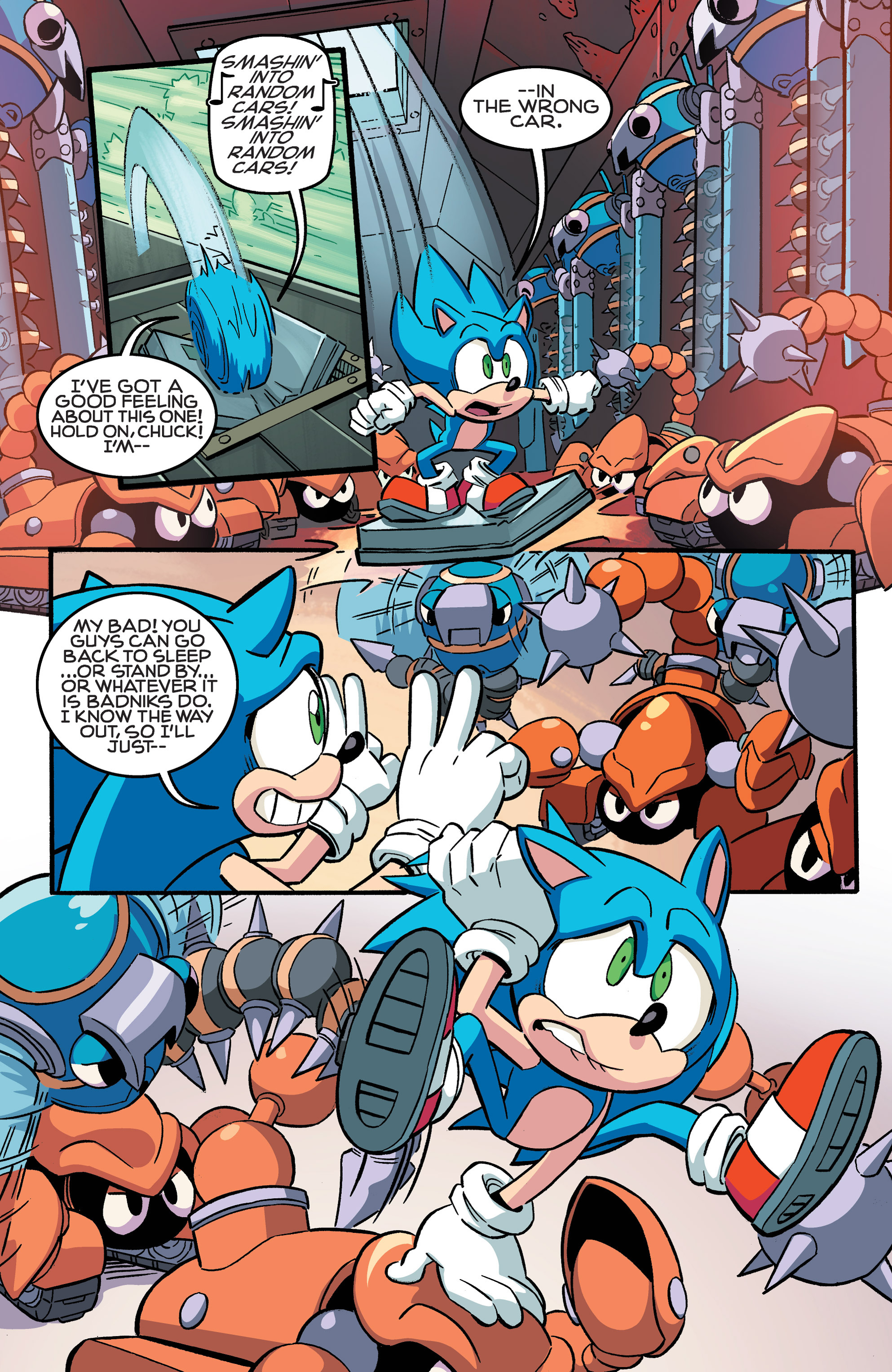 Read online Sonic The Hedgehog comic -  Issue #258 - 16