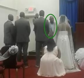 jamaican pastor walks out of daughters wedding groom had not paper