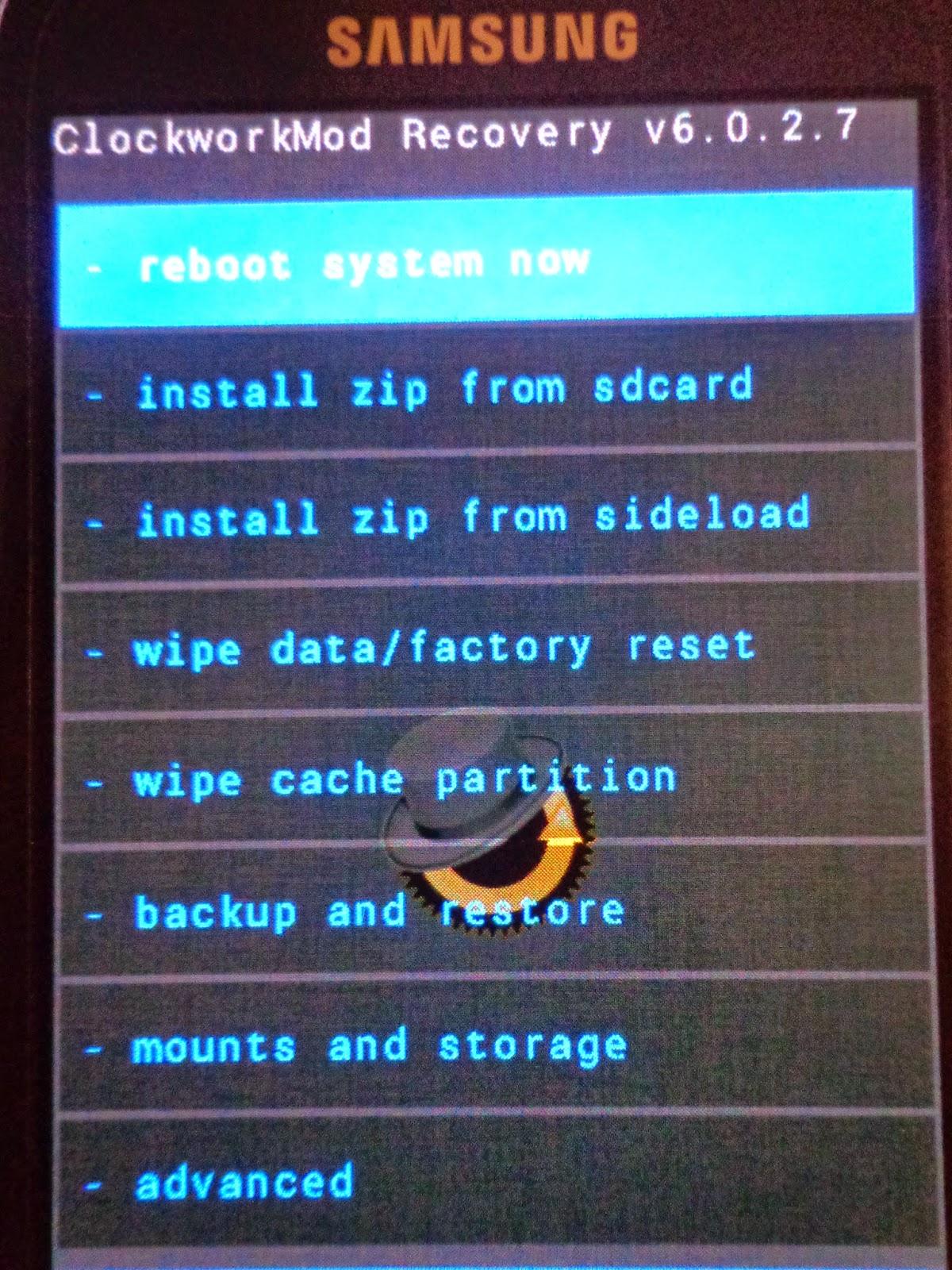 cara root s3 mini dan instal cwm