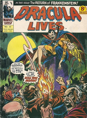 Marvel UK, Dracula Lives #33