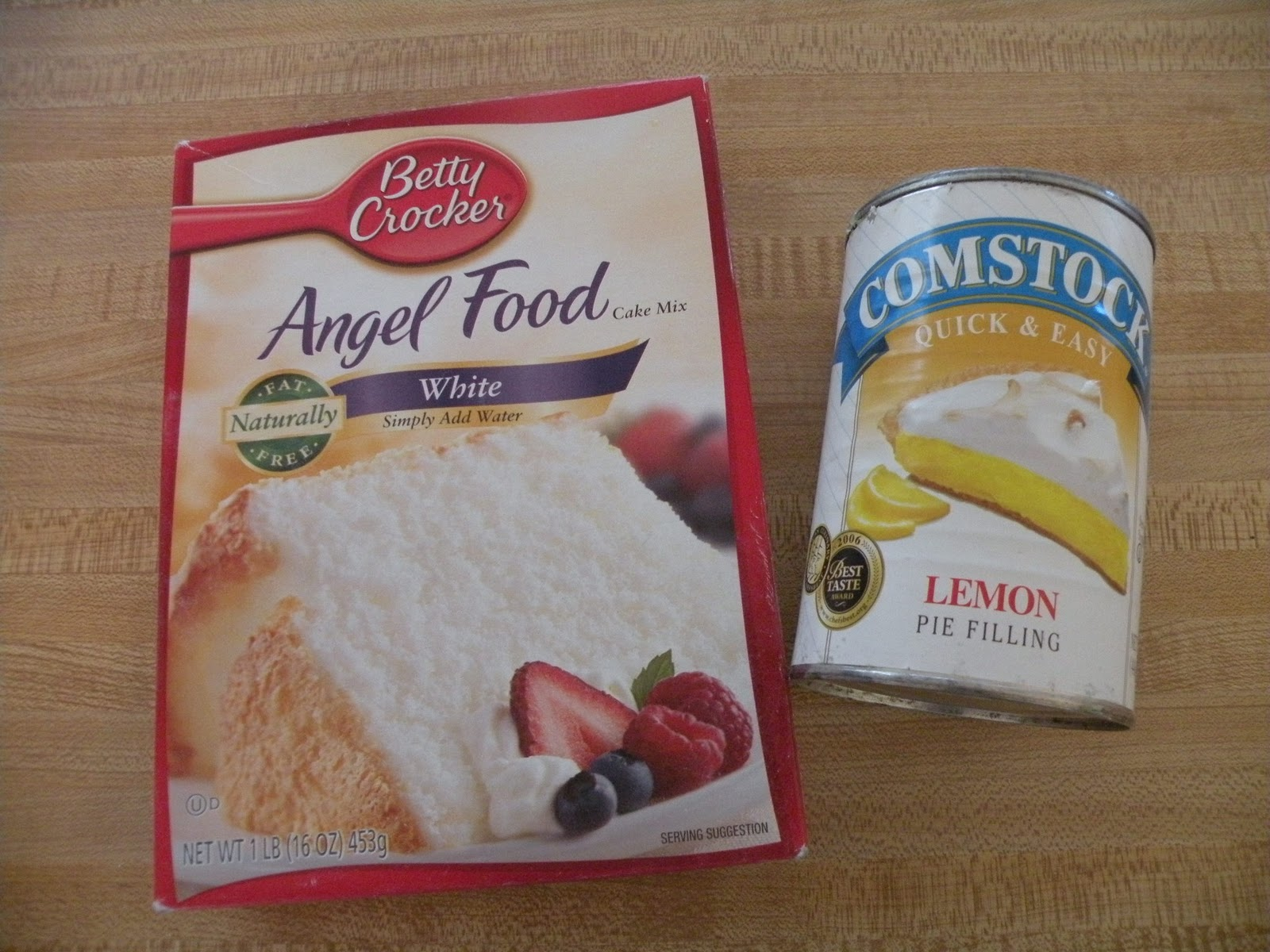 Lemon Bars Using Angel Food Cake Mix