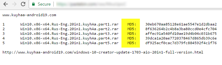 Cara checksum MD5 kuyhaa