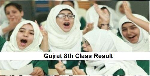 Gujrat 8th Class Result 2019 PEC - BISE Gujrat Board Results