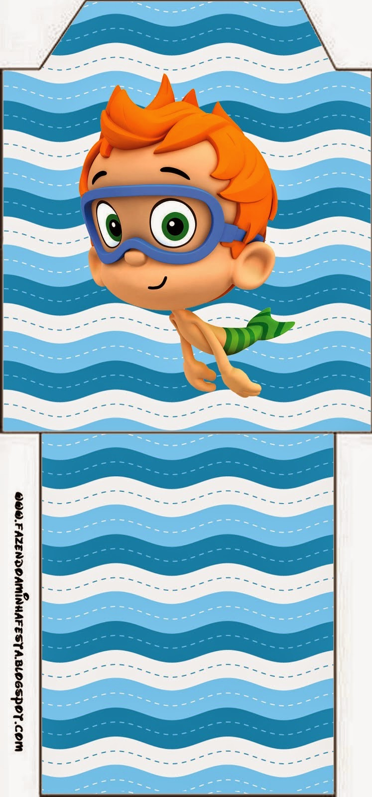 Bubble Guppies Free Party Printables Oh My Fiesta In English