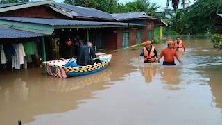 Mangsa Banjir Di Melaka Meningkat