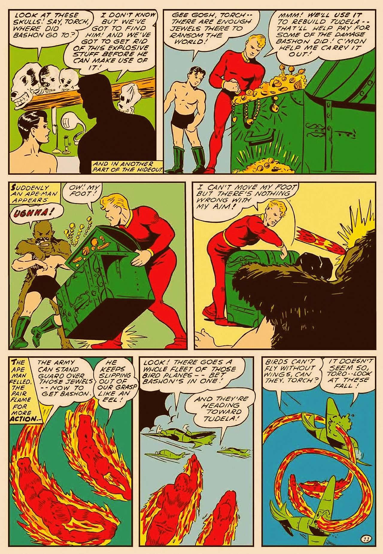 Read online All-Winners Comics comic -  Issue #9 - 12