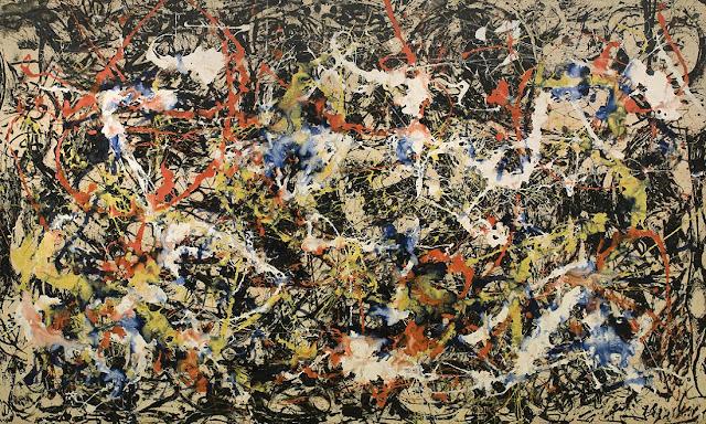 Jackson Pollock Convergence 1952