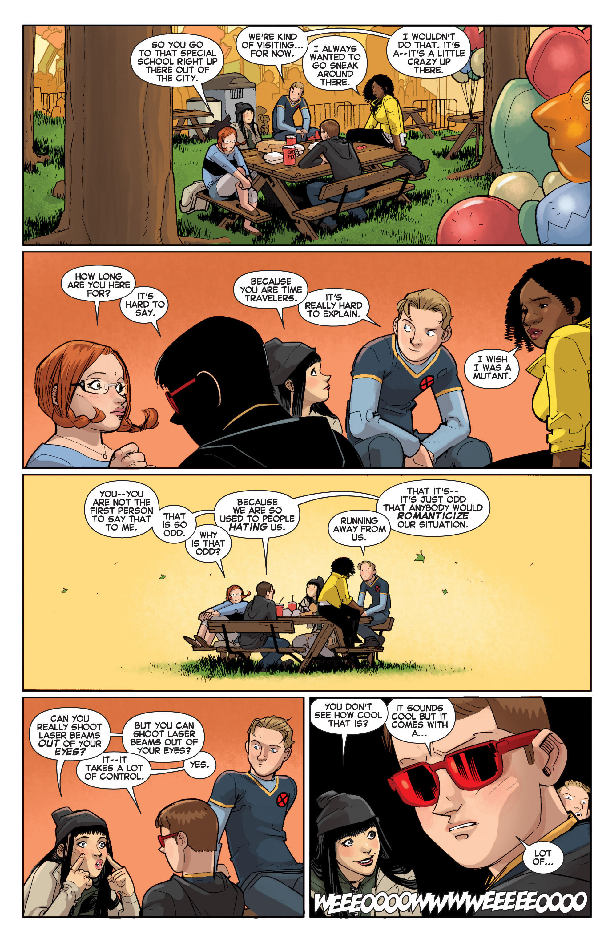 Read online All-New X-Men (2013) comic -  Issue # _Special - Out Of Their Depth - 105