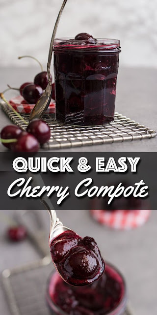 Easy Cherry Compote